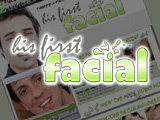 His First Facial From Gay Facials XXX